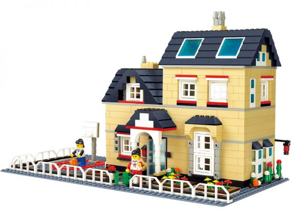 WANGE 34052 Luxury Villa Series: B 0