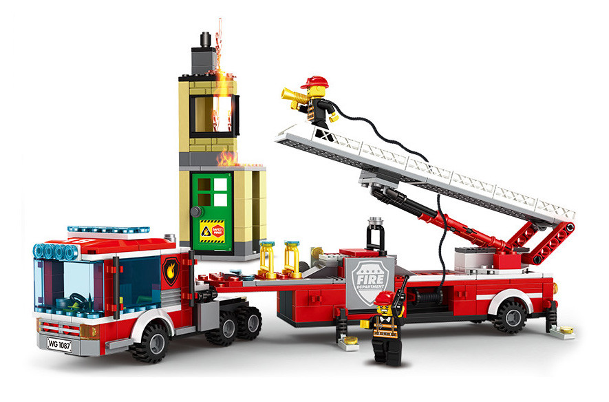 WANGE 3625 Fire Brigade: Emergency Rescue Fire Engine 0
