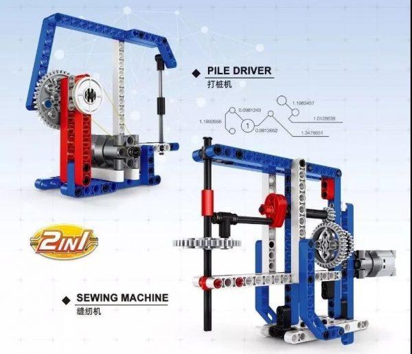 WANGE 3804 Power machinery: sewing machine, piling machine 0