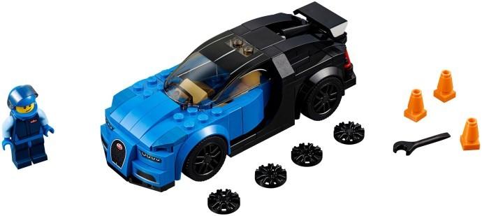 WANGE 2873 Bugatti Chiron 1