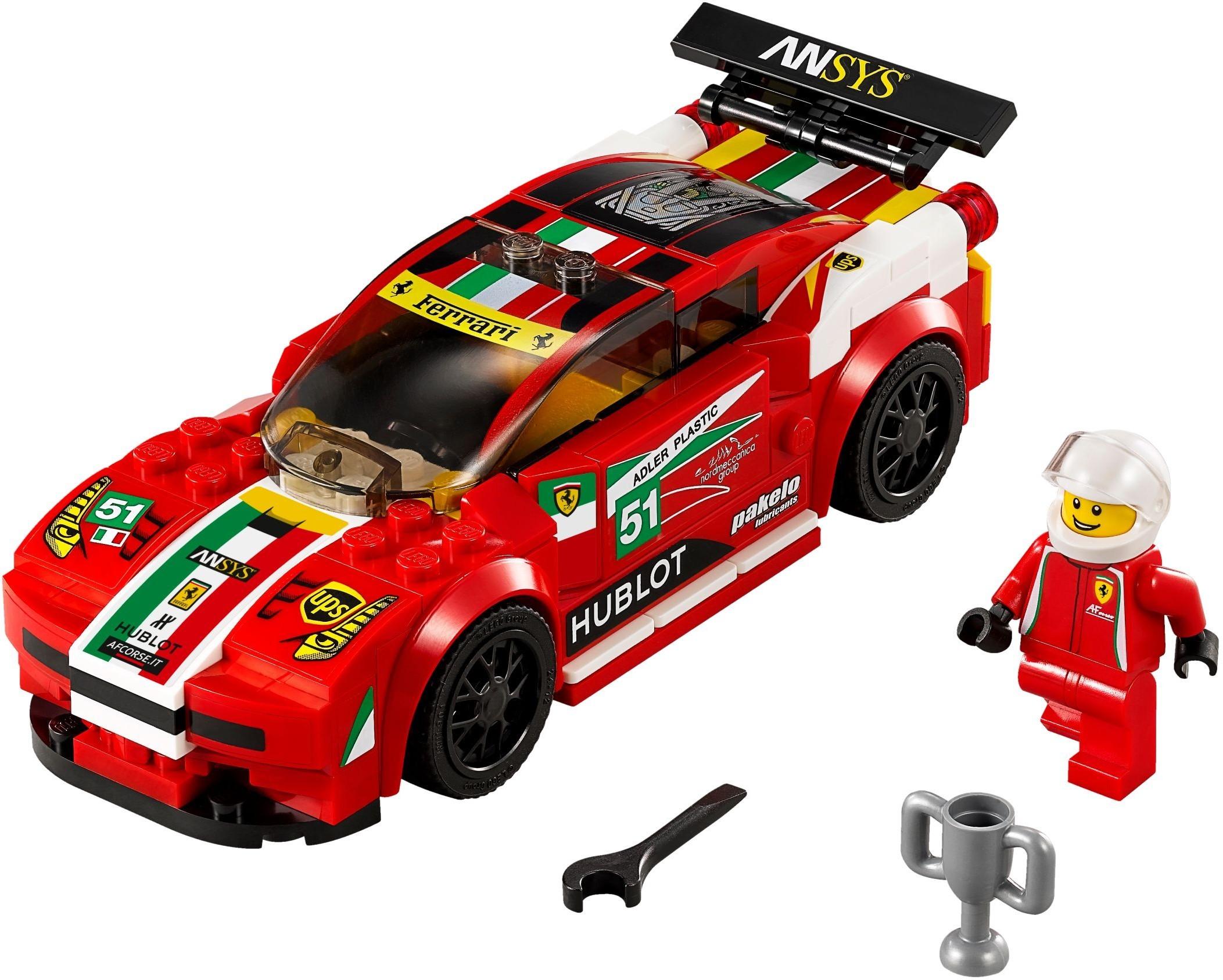 WANGE 2875 Ferrari 458 Italia GT2 1