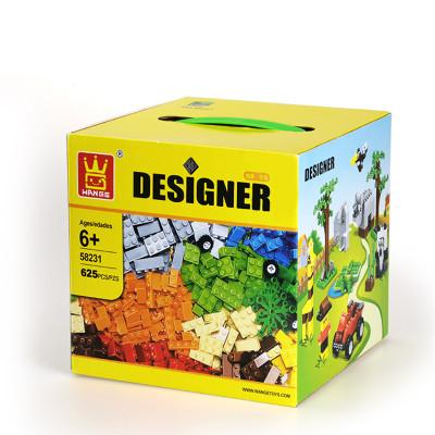 WANGE 58231 Wanger Gift BoxEd Bulk Piece Slicing Building Blocks Creator Expert Small Particles 1