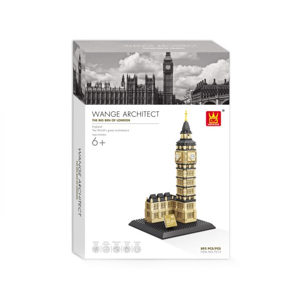 WANGE 7012 Elizabeth Tower, London, London, Big Ben 3