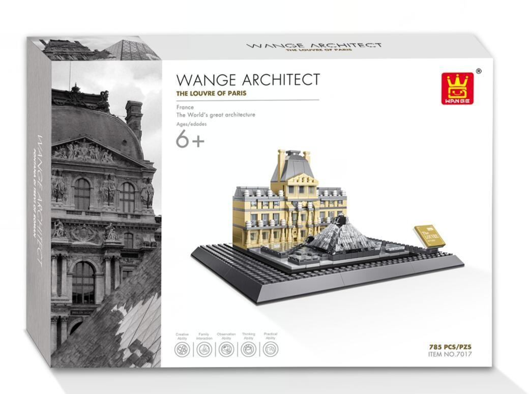 WANGE 4213 Louvre Museum of Paris 1