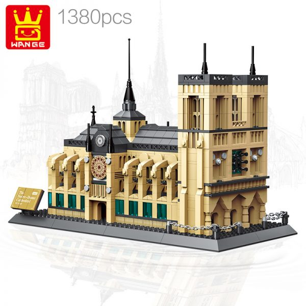 WANGE 5210 Notre Dame Cathedral 1