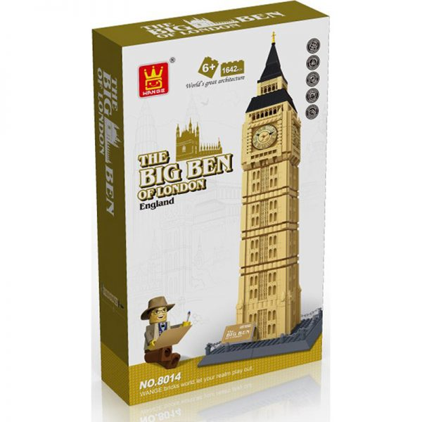 WANGE 8014 Big Ben, Elizabeth Tower, London, UK 1