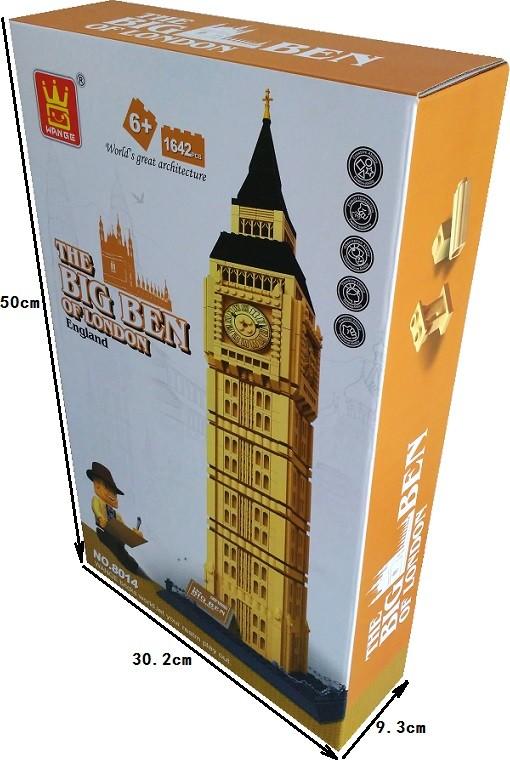 WANGE 8014 Big Ben, Elizabeth Tower, London, UK 3