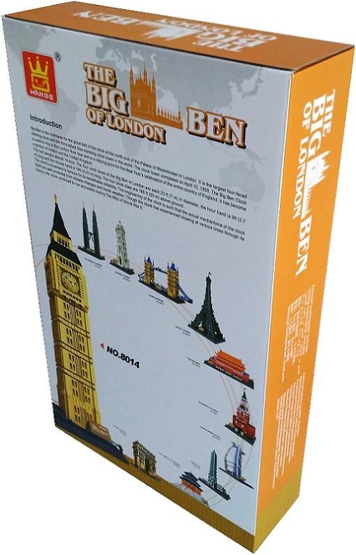 WANGE 8014 Big Ben, Elizabeth Tower, London, UK 4