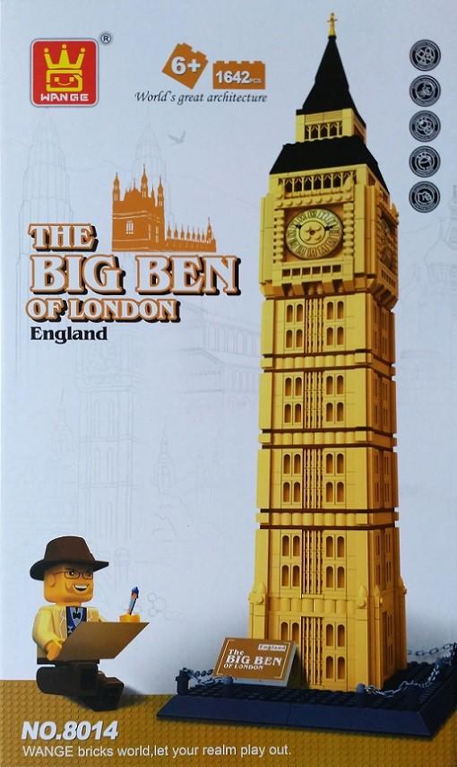 WANGE 8014 Big Ben, Elizabeth Tower, London, UK 5