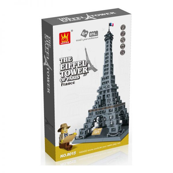 WANGE 5217 Eiffel Tower, Paris, France 1