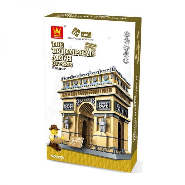 WANGE 5223 Arc de Triomphe, Paris, France 1