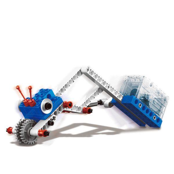 WANGE 1402 Power machinery: crane, stone thrower, caterpillar, gravity car 3