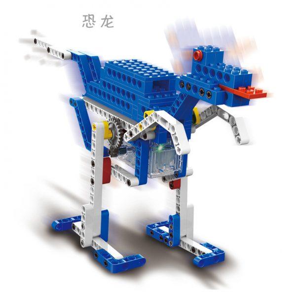 WANGE 1404 Power machinery: engine, folding chair, impact hammer, dinosaur 3