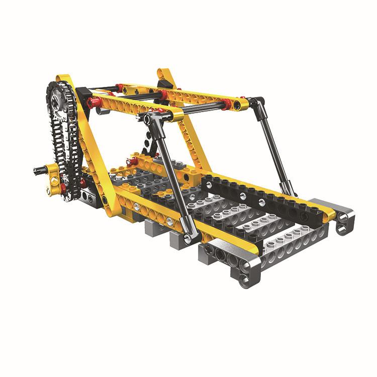 WANGE 1406 Power machinery: beam pumps, suspension bridges, pirate ships, sewing machines 1