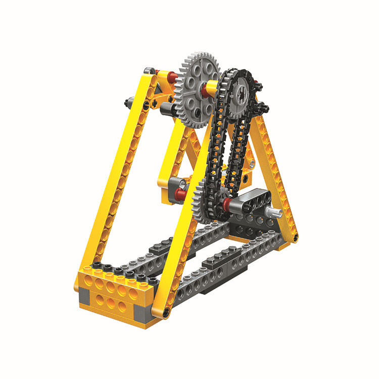 WANGE 1406 Power machinery: beam pumps, suspension bridges, pirate ships, sewing machines 2