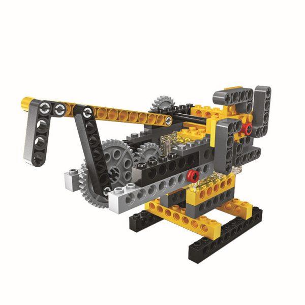 WANGE 1406 Power machinery: beam pumps, suspension bridges, pirate ships, sewing machines 3
