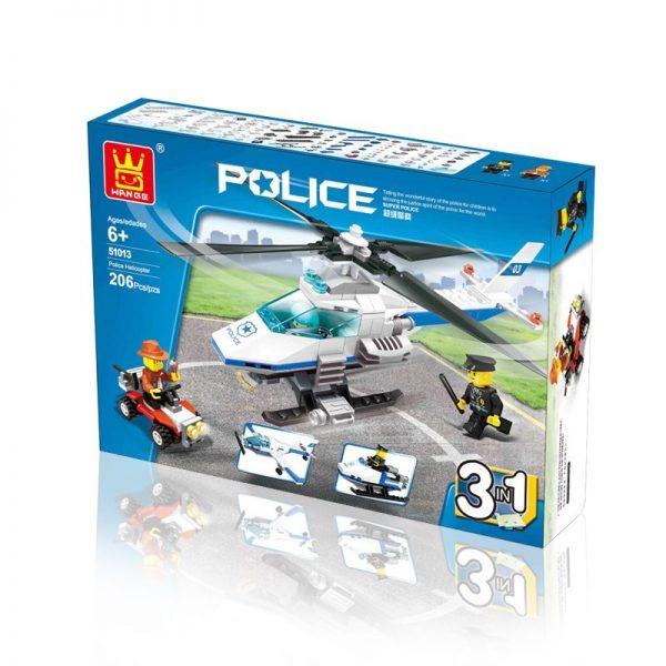 WANGE 51013 Police helicopter 1