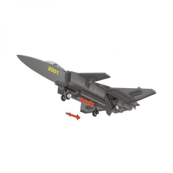 WANGE JX003 J20 Heavy Stealth Aircraft 3