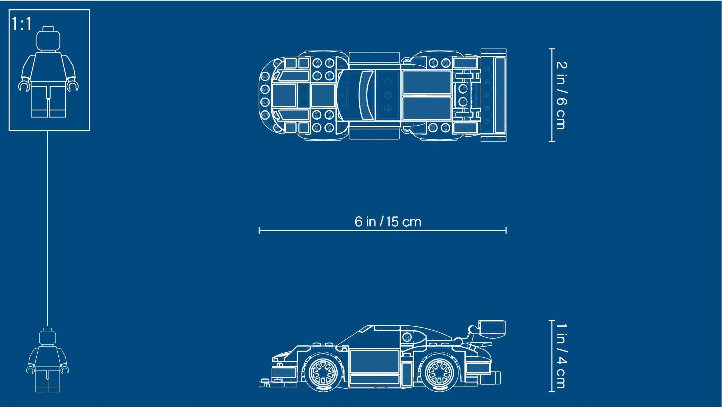 WANGE S72 Super Racing Cars: Porsche 911 RSR and Porsche 911 Turbo 3.0 1