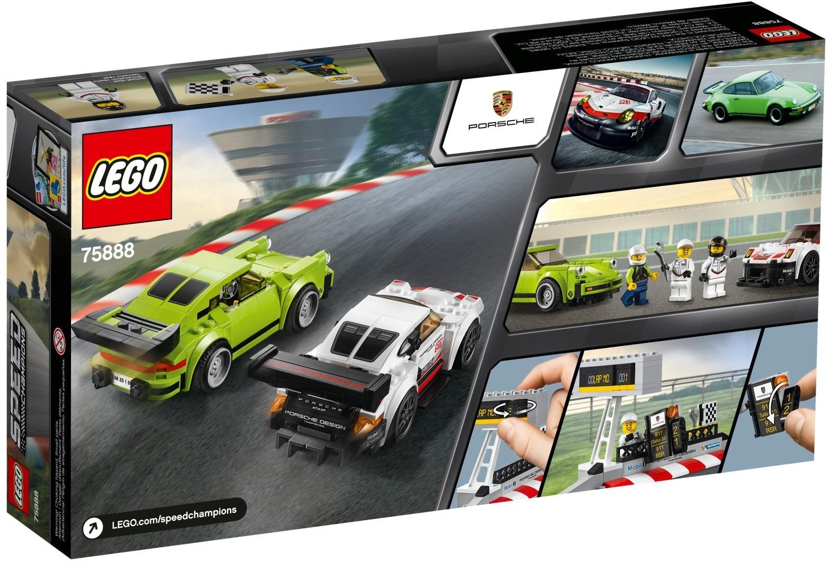 WANGE S72 Super Racing Cars: Porsche 911 RSR and Porsche 911 Turbo 3.0 2
