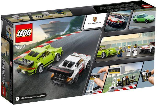 WANGE 2872 Super Racing Cars: Porsche 911 RSR and Porsche 911 Turbo 3.0 2