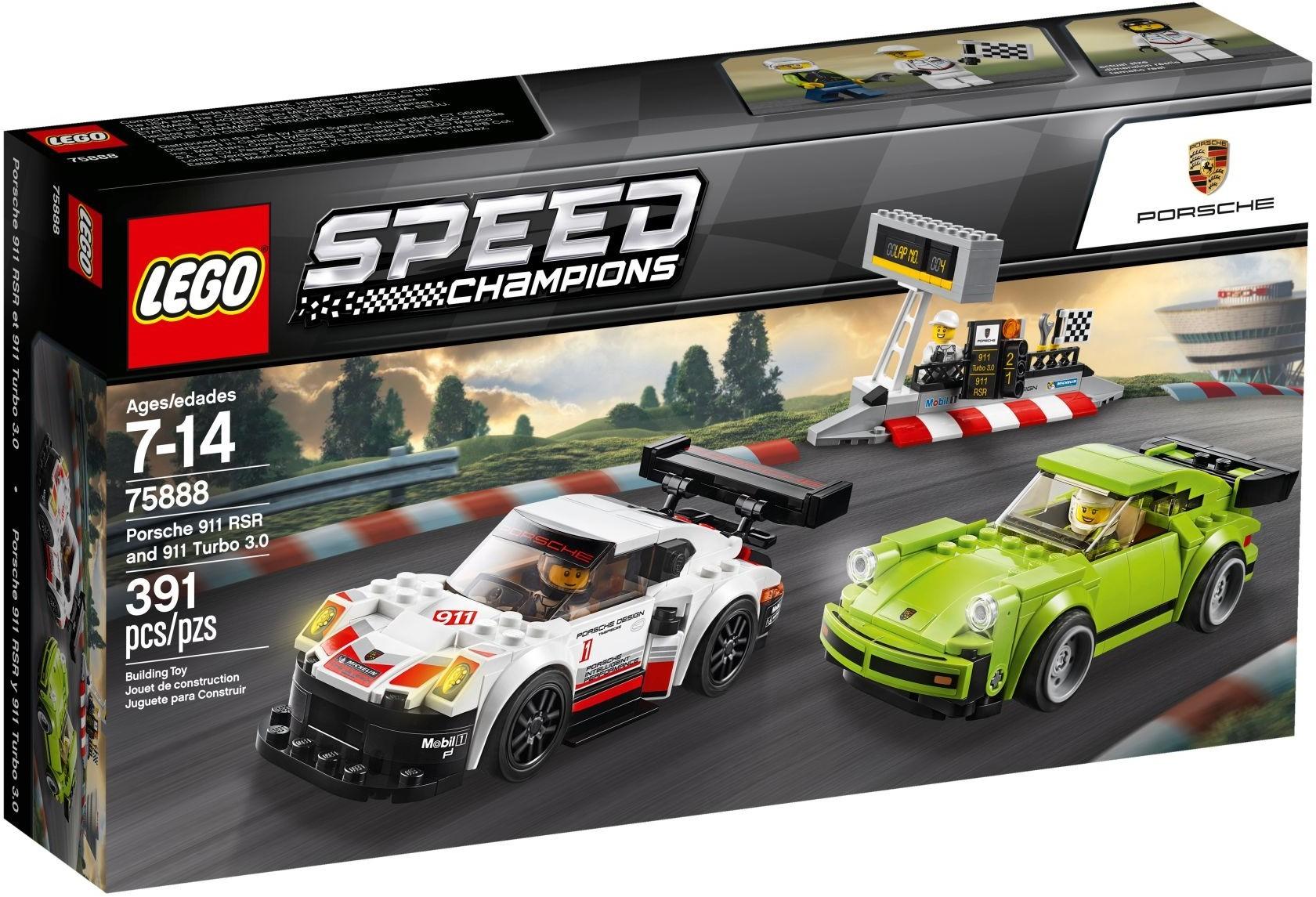 WANGE 2872 Super Racing Cars: Porsche 911 RSR and Porsche 911 Turbo 3.0 3