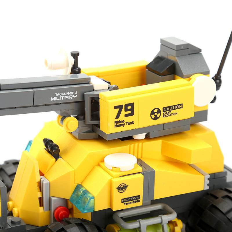 WANGE 3668 Reloaded Rhino Tank 3