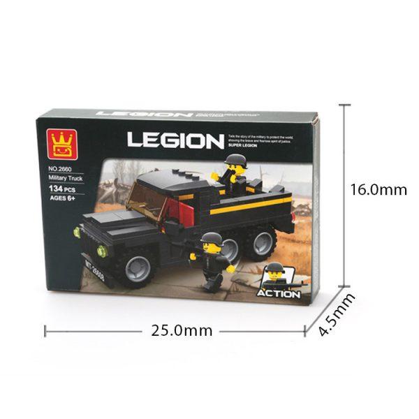 WANGE 2660 Legion: Military Trucks 3