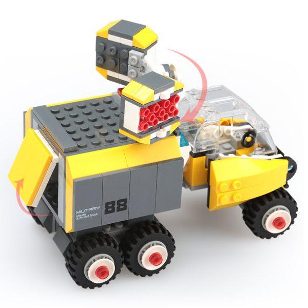 WANGE 3669 Forward Military: Missile Armored Vehicle 1