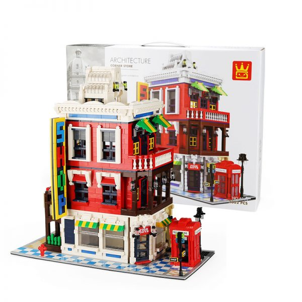 WANGE 6311 Architecture: Corner Shop 1