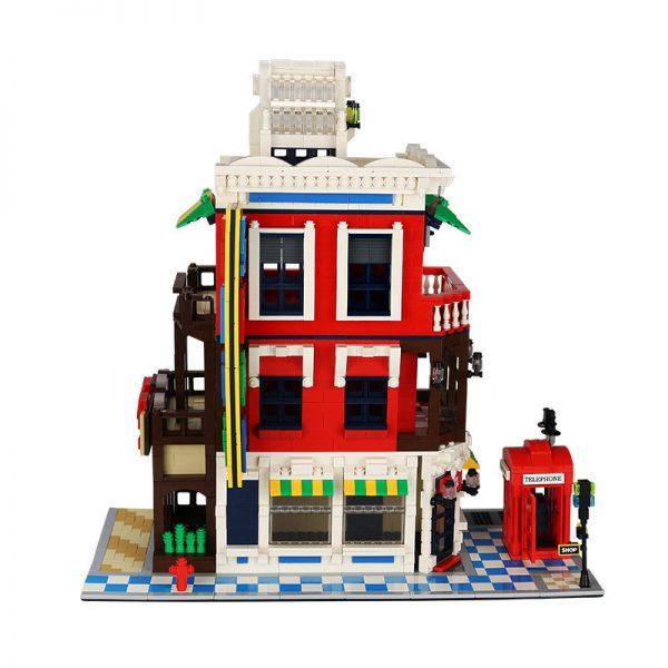WANGE 6311 Architecture: Corner Shop 2