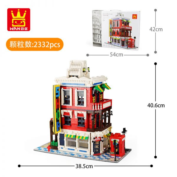 WANGE 6311 Architecture: Corner Shop 5