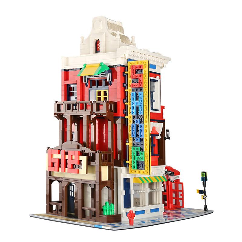 WANGE 6311 Architecture: Corner Shop 6
