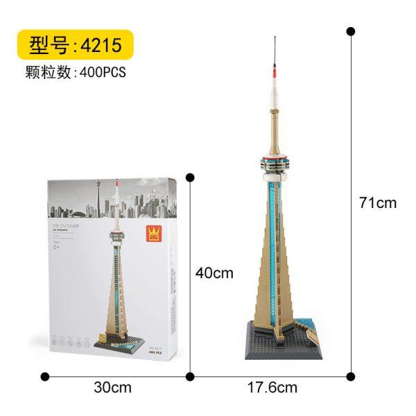 WANGE 4215 TV Tower, Toronto, Canada 3