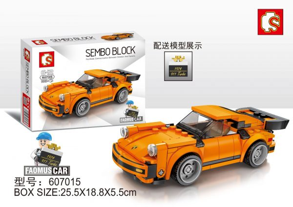 WANGE S72 Super Racing Cars: Porsche 911 RSR and Porsche 911 Turbo 3.0 4