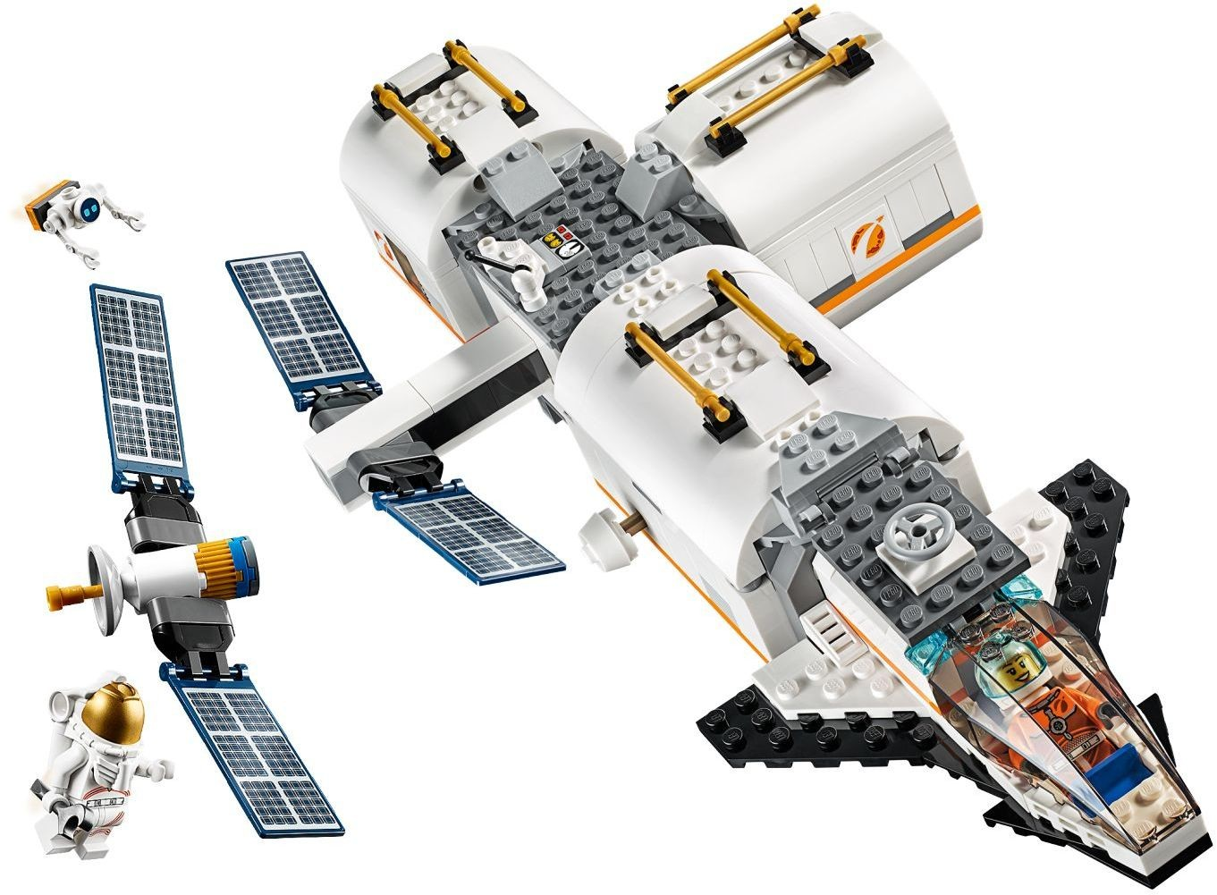 WANGE 4850 Space: The Moon Space Station 2