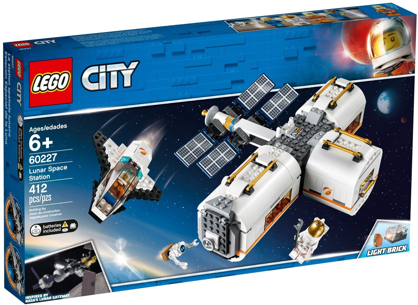 WANGE 4850 Space: The Moon Space Station 4