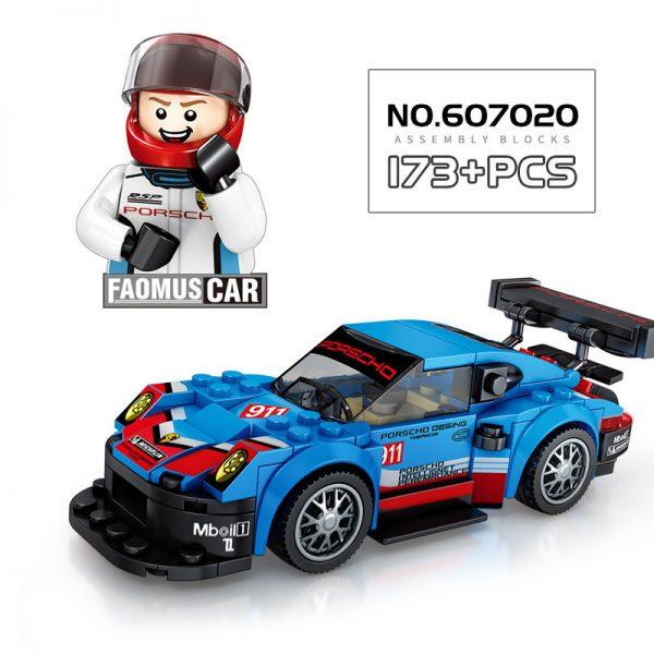 WANGE 2872 Super Racing Cars: Porsche 911 RSR and Porsche 911 Turbo 3.0 5