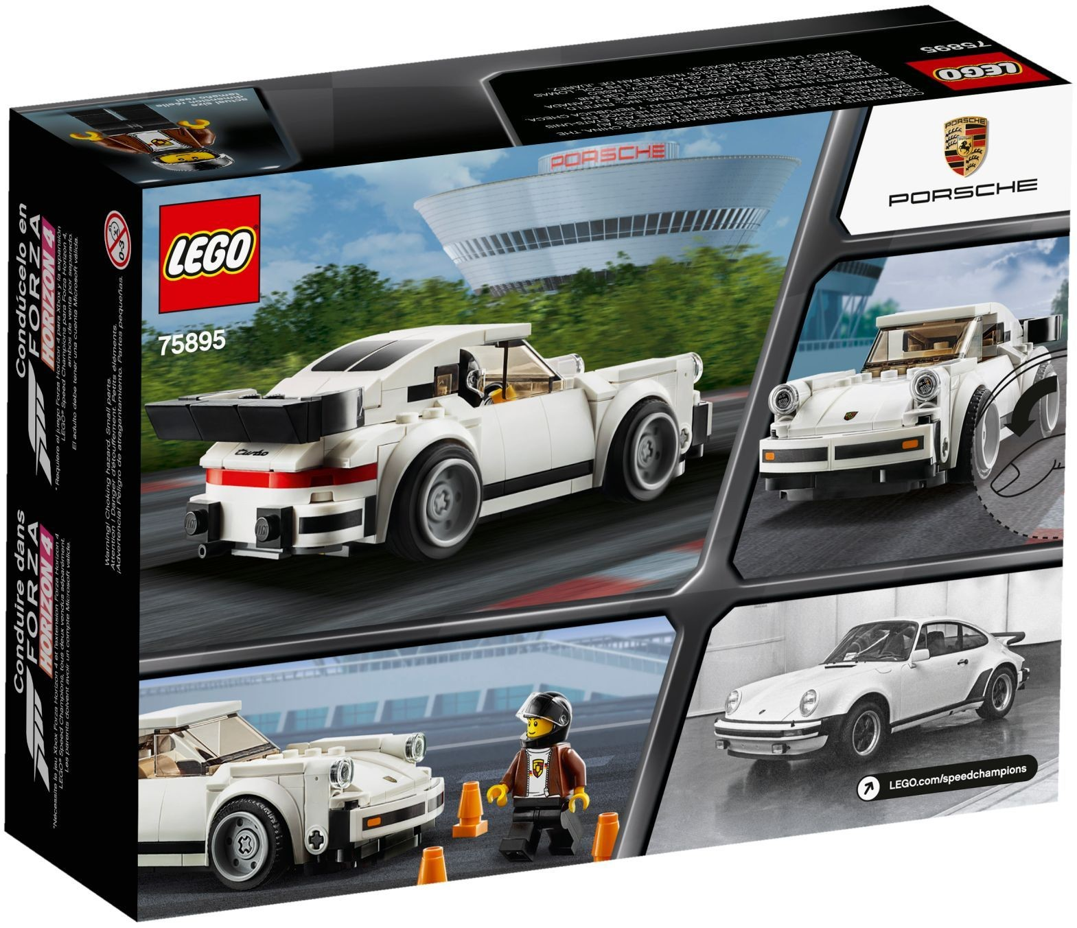 WANGE 2872 Super Racing Cars: Porsche 911 RSR and Porsche 911 Turbo 3.0 10