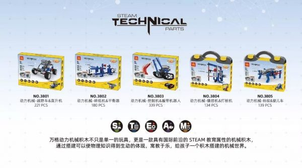 WANGE 3801 Power machinery: off-road vehicles, helicopters 2
