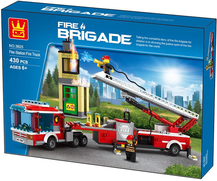WANGE 3625 Fire Brigade: Emergency Rescue Fire Engine 1