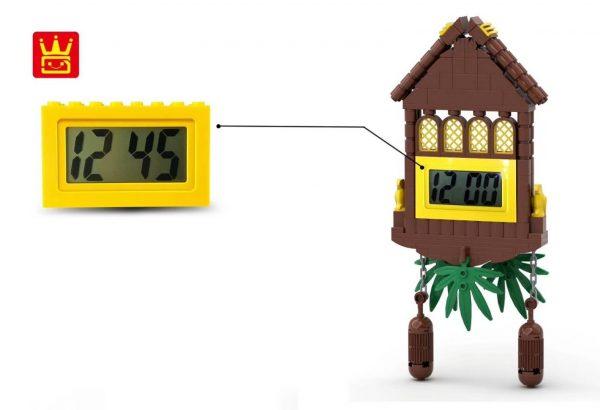 WANGE 094-2 Building blocks electronic clock 1