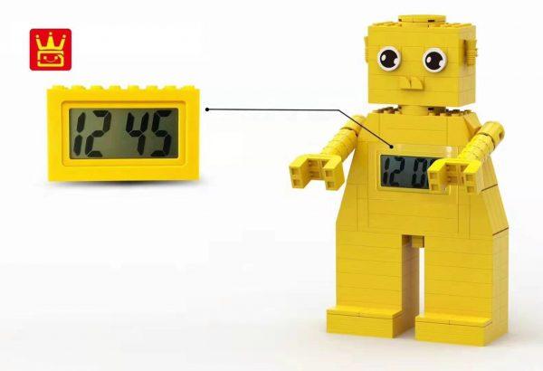 WANGE 094-2 Building blocks electronic clock 2