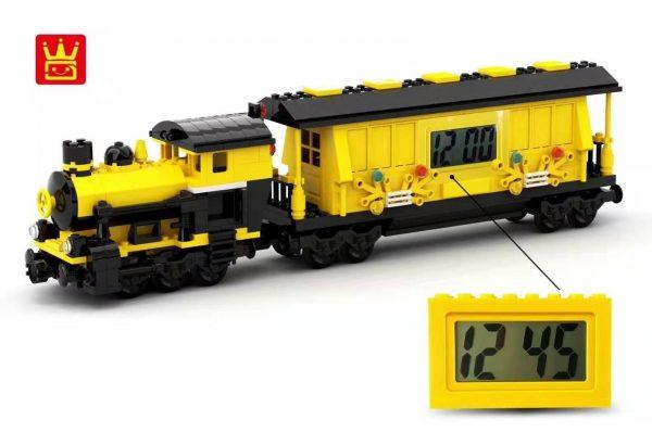 WANGE 094-2 Building blocks electronic clock 3