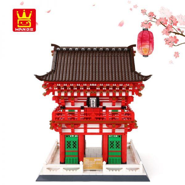 WANGE 6212 King's Gate of Shimizu Temple, Kyoto, Japan 2