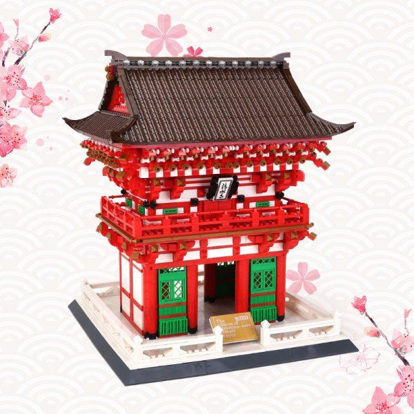 WANGE 6212 King's Gate of Shimizu Temple, Kyoto, Japan 3