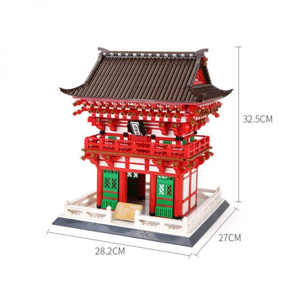 WANGE 6212 King's Gate of Shimizu Temple, Kyoto, Japan 4