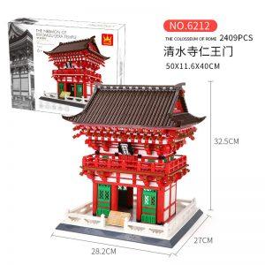 WANGE 6212 King's Gate of Shimizu Temple, Kyoto, Japan 6