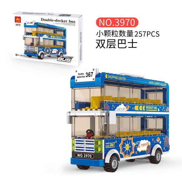 WANGE 3970 City Bus: Double-Decker Bus 1