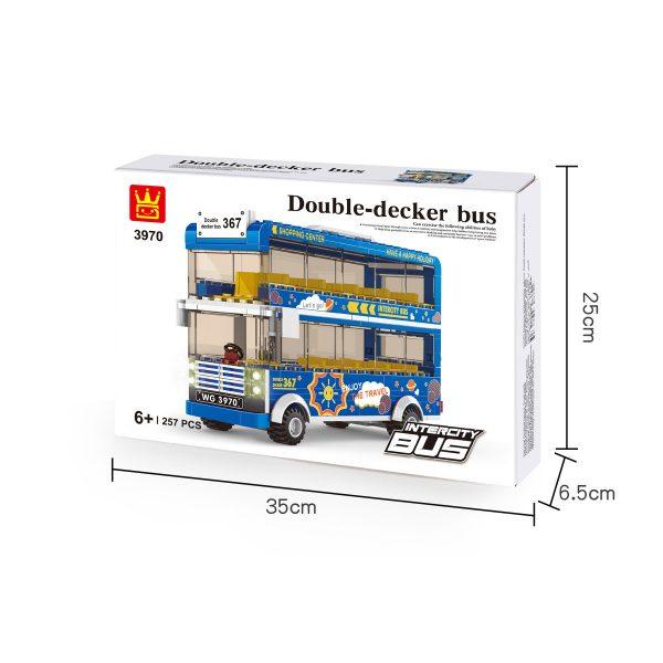 WANGE 3970 City Bus: Double-Decker Bus 2